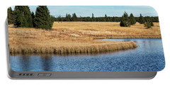 Dead Pond In Ore Mountains Portable Battery Charger by Michal Boubin
