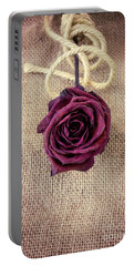 Dead Rose Portable Battery Charger