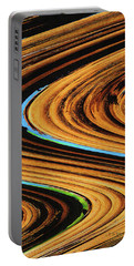 Dead Saguaro Abstract  Portable Battery Charger by Tom Janca