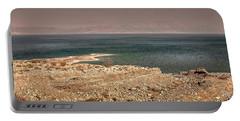 Dead Sea Coastline 1 Portable Battery Charger