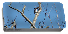 Dead Tree - Wildlife Portable Battery Charger by Donald C Morgan