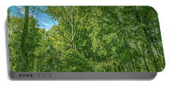 Portable Battery Charger featuring the photograph Dead Tree Gaeddeholm by Leif Sohlman