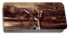 Portable Battery Charger featuring the photograph Dead Tree In Death Valley 11 by Micah May