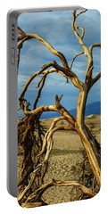 Portable Battery Charger featuring the photograph Dead Tree In Death Valley 12 by Micah May