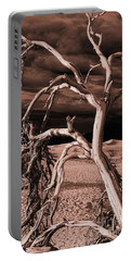 Portable Battery Charger featuring the photograph Dead Tree In Death Valley 15 by Micah May