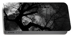 Dead Tree With Birds Portable Battery Charger
