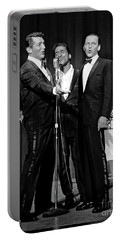Dean Martin, Sammy Davis Jr. And Frank Sinatra. Portable Battery Charger