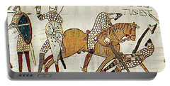 Death Of Harold, Bayeux Tapestry Portable Battery Charger