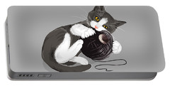 Death Star Kitty Portable Battery Charger