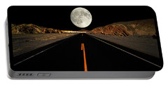 Death Valley Moon Rise Portable Battery Charger
