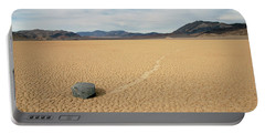 Portable Battery Charger featuring the photograph Death Valley Ractrack by Breck Bartholomew