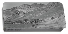 Portable Battery Charger featuring the photograph Death Valley Road by Frank DiMarco