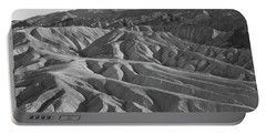 Portable Battery Charger featuring the photograph Death Valley Rock Formations by Frank DiMarco