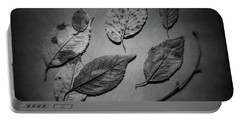 Decaying Leaves Portable Battery Charger by Tom Mc Nemar
