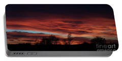 December 2016 Farm Sunset Portable Battery Charger