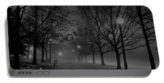 December Morning In Riverfront Park - Spokane Washington Portable Battery Charger