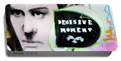 Portable Battery Charger featuring the photograph Decisive Moment by Art Block Collections