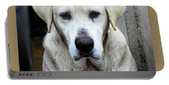 Deck Hand Dog Portable Battery Charger by Laura Ragland