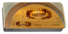 Portable Battery Charger featuring the photograph Deco Arches by Melinda Ledsome