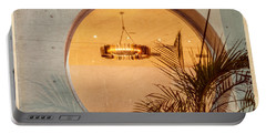 Portable Battery Charger featuring the photograph Deco Circles by Melinda Ledsome