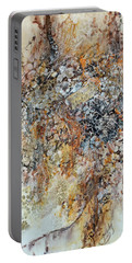 Portable Battery Charger featuring the painting Decomposition  by Joanne Smoley