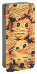Decorated Shortbread Mummy Cookies Portable Battery Charger
