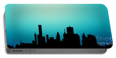 Decorative Abstract Skyline Houston R1115a Portable Battery Charger