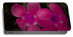 Portable Battery Charger featuring the photograph Decorative Floral A62917 by Mas Art Studio