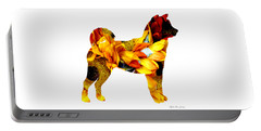 Decorative Husky Abstract O1015g Portable Battery Charger