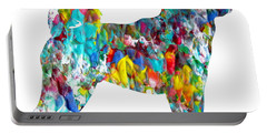 Decorative Husky Abstract O1015h Portable Battery Charger