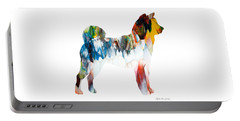 Decorative Husky Abstract O1015l Portable Battery Charger