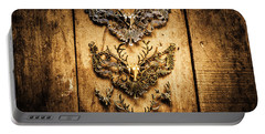 Decorative Moose Emblems Portable Battery Charger