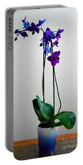 Portable Battery Charger featuring the photograph Decorative Orchid Photo A6517 by Mas Art Studio