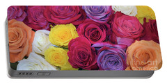 Decorative Wallart Brilliant Roses Photo B41217 Portable Battery Charger