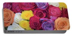 Decorative Wallart Brilliant Roses Photo B41217 Portable Battery Charger