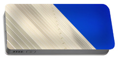 Deep Blue Sky And Office Building Wall Portable Battery Charger