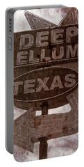Deep Ellum Texas Portable Battery Charger by Jonathan Davison