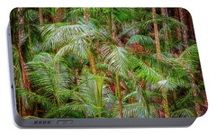 Portable Battery Charger featuring the photograph Deep In The Forest, Tamborine Mountain by Dave Catley