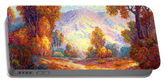 Radiant Peace, Colors Of Fall Portable Battery Charger