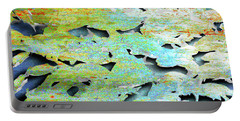 Portable Battery Charger featuring the mixed media Deep by Tony Rubino