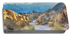 Deep Within The Alabama Hills Portable Battery Charger