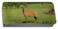 Deer Calf. Portable Battery Charger