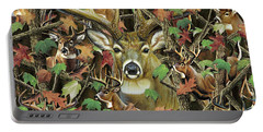 Deer Camo Portable Battery Charger