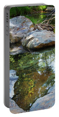 Deer Creek Point Print Portable Battery Charger