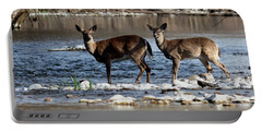 Deer Crossing 1 Portable Battery Charger