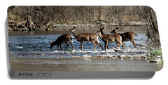 Deer Crossing 3 Portable Battery Charger