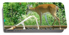 Deer Crossing Portable Battery Charger