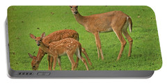 Deer Family Portable Battery Charger