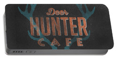 Deer Hunter Cafe Portable Battery Charger
