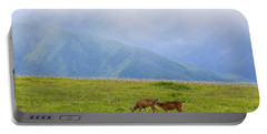 Deer In Browse Portable Battery Charger